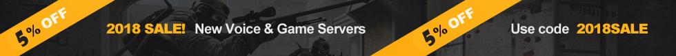 5% off code games servers