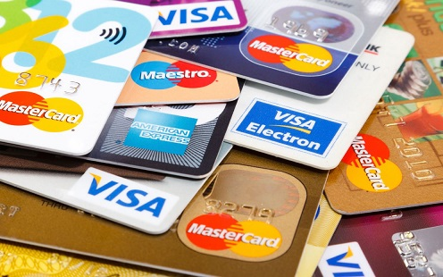 Credit Debit Cards payments